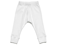baby leggings white