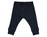 baby leggings navy melange
