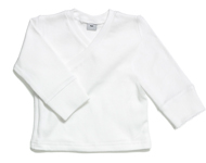 baby wrap top white