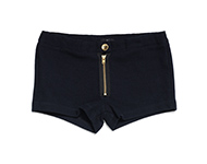 daria shorts navy blue