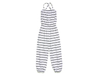 daphne jumpsuit b/w striped