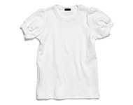 debi t-shirt white