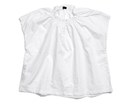 denise blouse white