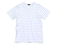 dove t-shirt lb/w striped