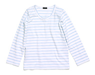 doyle t-shirt lb/w striped