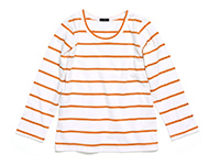 doyle t-shirt o/w striped
