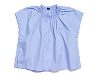 denise blouse light blue