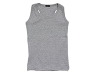 duke tank top grey melange