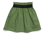 daisy skirt green