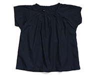 diana blouse navy blue