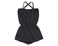 demi short jumpsuit charcoal
