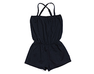 demi short jumpsuit dark navy blue