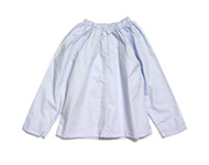 veronica blouse light blue
