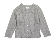 valeria cardigan light grey