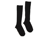 knee socks black