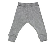 baby leggings light grey