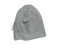 baby cap light grey
