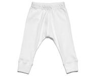 baby leggings white