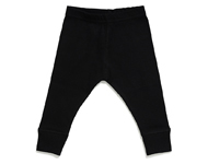 baby leggings black