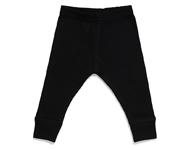 baby leggings black