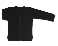 baby cardigan black